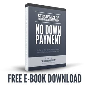 Free E-Book: Buying Homes with No Down Payment