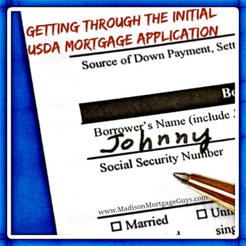 USDA Mortgage Application