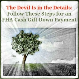 FHA Cash Gift Down Payment