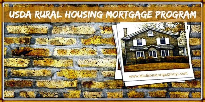 USDA Rural Housing Mortgage