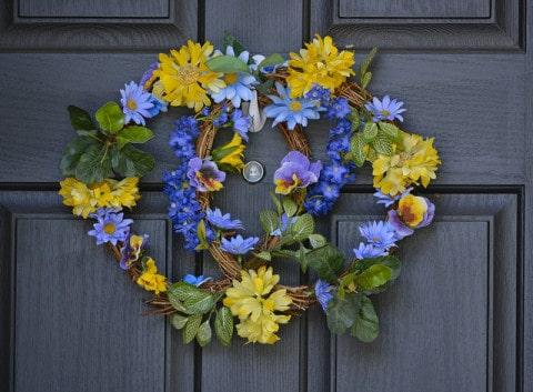 Front Door Winter Curb Appeal
