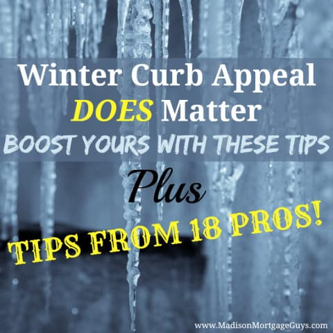 Winter Curb Appeal Ideas
