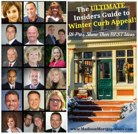 Winter Curb Appeal Ideas