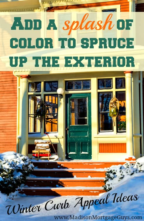 winter curb appeal tips - Curb Appeal Tips