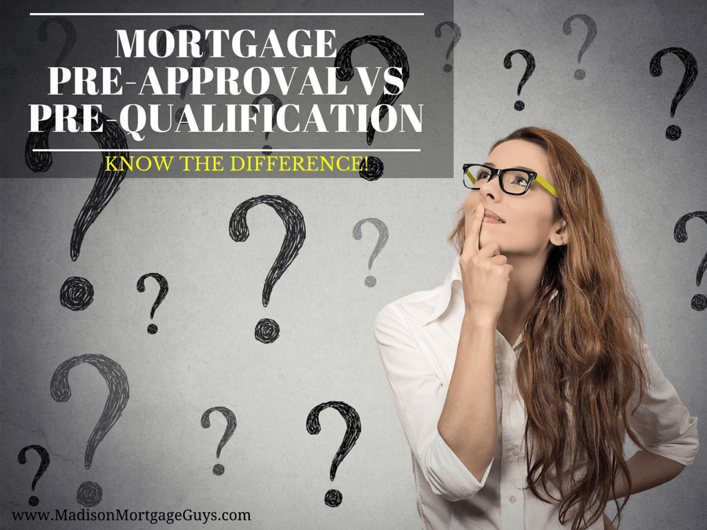 Mortgage Pre-Approval Vs Pre-Qualification