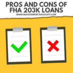 Pros and Cons of FHA 203k Loan