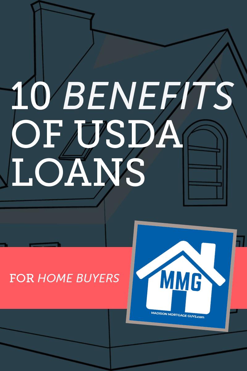 Benefits Of USDA Loans